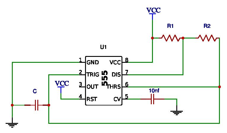 555 Timer - Electronics - BasicTables